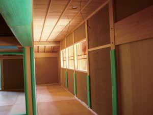 内部 廊下 Interior corridor