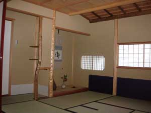 書院 茶室 Tea-ceremony room, Shoin
