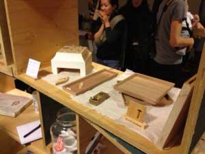 studio KU+とtomohikomurakamiのコラボ展示でした。