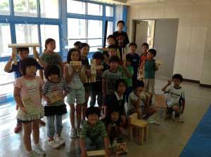 木工教室2012