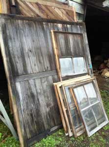 いただいた窓。…使えるのかな?