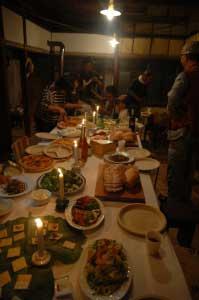 オランダからの食材も並びました。